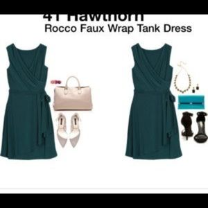 NWT Stitch Fix 41 Hawthorn Rocco wrap dress L